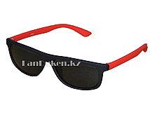 Солнцезащитные очки детские красные