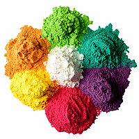Краски фестивальные Холи (зеленый,фиолетовый,оранжевый,мятный), фото 1