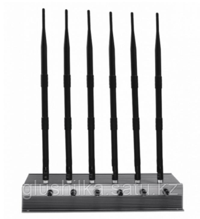 "Глушилка стационарная ""Барьер Х6-4G"" 56W, до 80 метров"