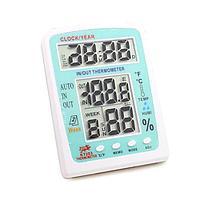 Цифровой термометр KT-203 (Часы / Календарь / Будильник) купить Нур-Султан