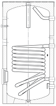 Бак ВТА-1, 160 л