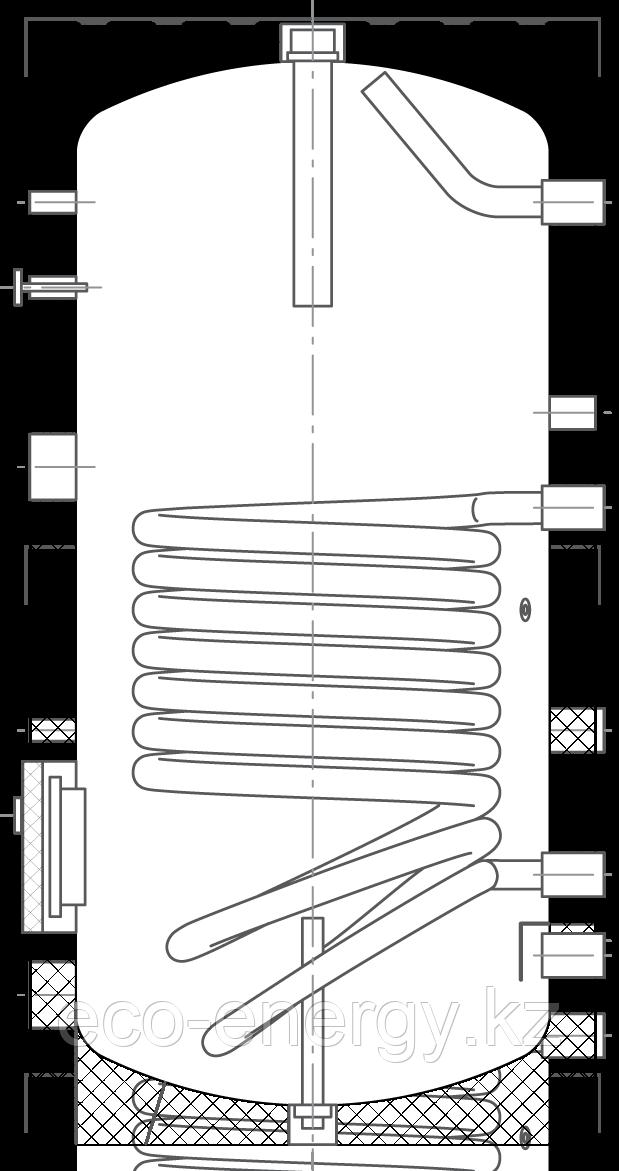 Бак ВТА-1, 200 л