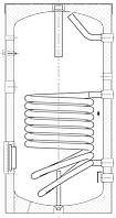 Бак ВТА-1, 400 л