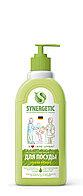 SYNERGETIC для мытья посуды, детских игрушек Яблоко (флакон 0,5л)