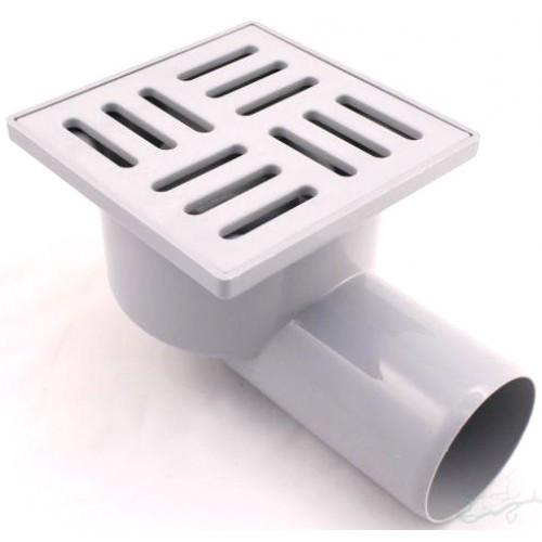 Трап пластиковый горизонтальный CASELA 802 15х15 ф50