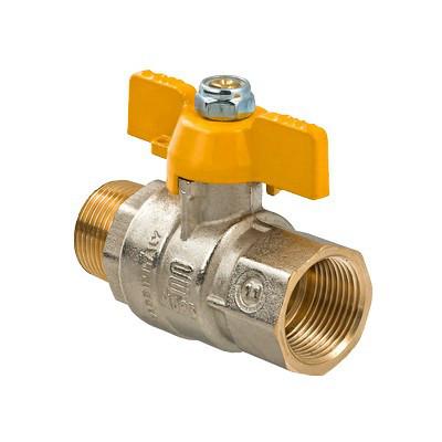 Кран газовый (Топгаз) внутренняя резьба -15