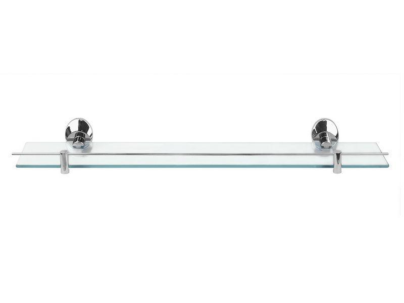 Полка стеклянная для ванной 8103