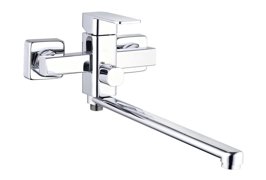 Смеситель Zegor однорукий для ванной длинный LEB7 A123