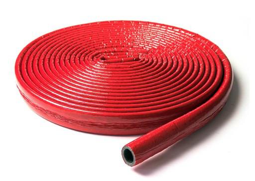 Труба теплоизоляционная красная 9х43
