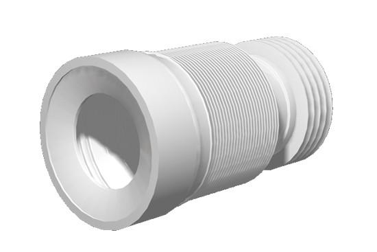 К 828 Удлинитель гибкий для унитаза d 110мм (20шт/к)
