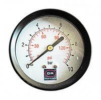 Манометр UNO d 50мм 0-10 бар, осевое соединение