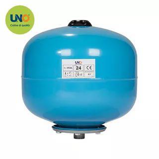 Расширительный бак UNO SF 24 литра, синий верт. сферич.