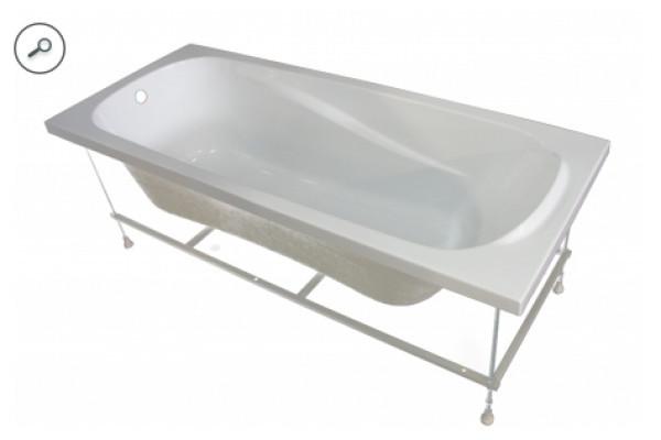 Комплект Ванна SERENA Simple LA 1500*700 с ножками