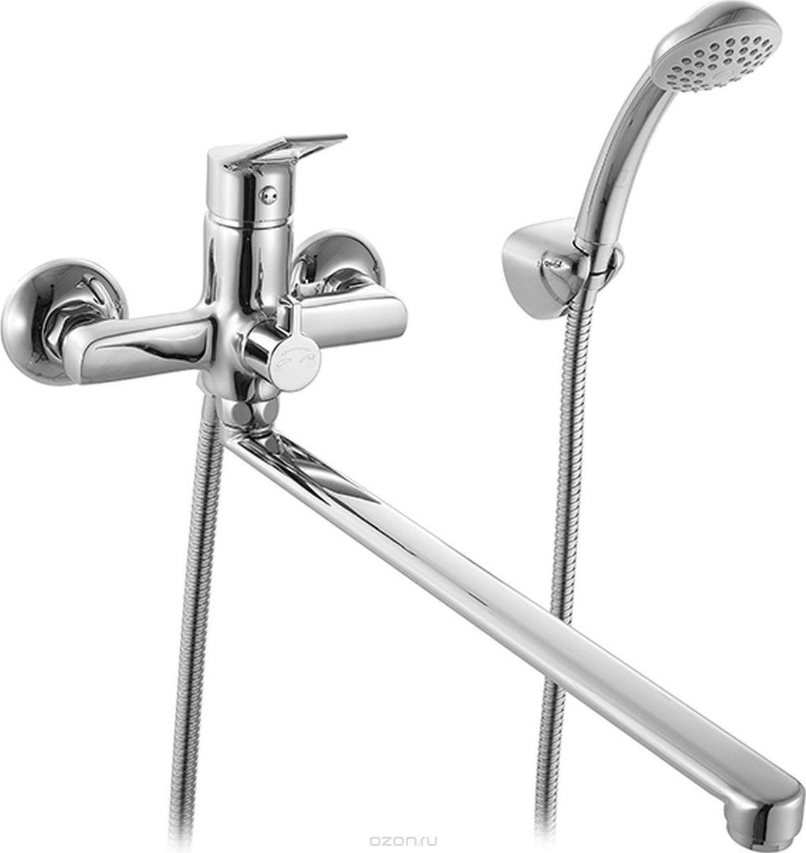 Смеситель для ванной c длинним изливом с кер.див Milardo UKON