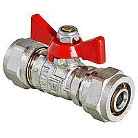 Кран Фитинг для металлопластиковых труб - 16