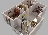 Изготовление эскизного проекта встроенного помещения в Астане