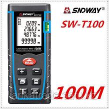Лазерная рулетка (дальномер) SW-T100