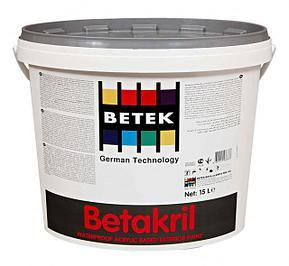 Фасадные краски и материалы BETEK