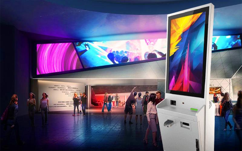 Интерактивные сенсорные панели для кинотеатров