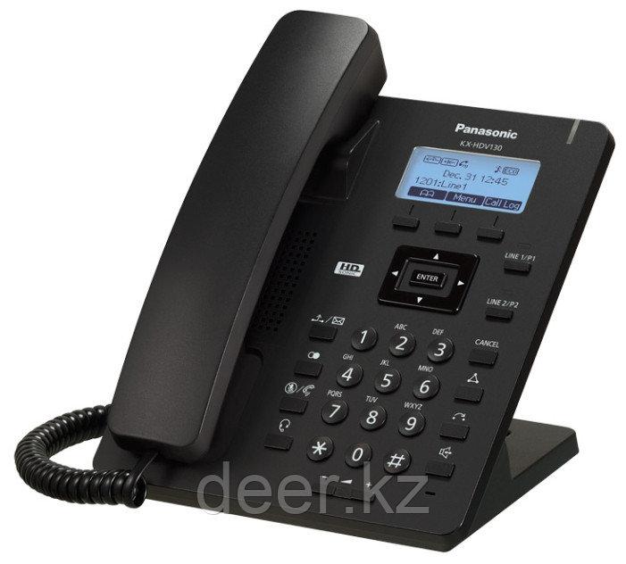 Panasonic KX-HDV130RUB Проводной SIP-телефон 2.3-дюйм