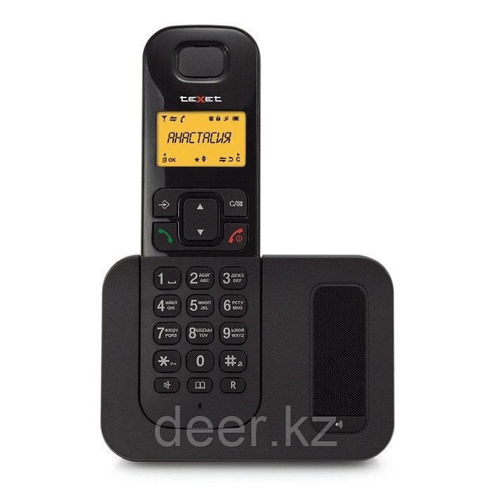 Бесшнуровой телефонный аппарат teXet TX-D6605А (черный)