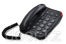 Телефонный аппарат teXet TX-214 цвет черный