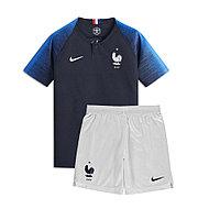 Детская футбольная форма сборной Франции Чемпионат Мира 2018., фото 1