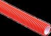 Труба гофр.двустенная ПНД/ПВД d110 красная (50м)