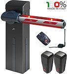 Шлагбаум MOOVI 30 KIT со стрелой 4,6м. (открытие - 4,0 сек., до 1200 циклов в сутки). BFT-Италия