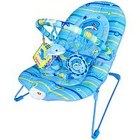 Детский шезлонг Голубой дельфин BR90001B-1
