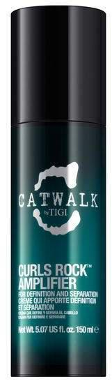 Дефинирующий крем для вьющихся волос -  Tigi Catwalk curlesque rock amplifier 150 мл.