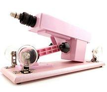 Машина machina gun розовая