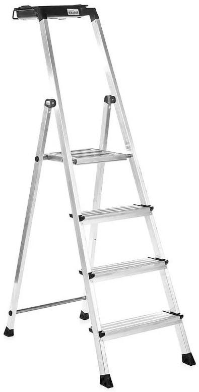 Лестница-стремянка 4 ступ. Secury® , с системой Multi Grip
