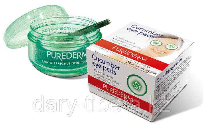 Purederm Cucumber Eye Pads-Огуречные подушечки для глаз