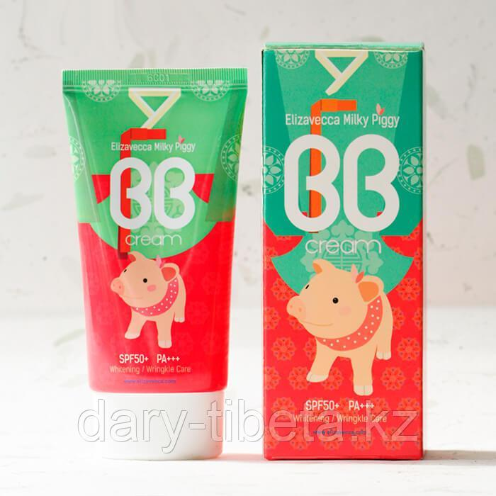 Elizavecca Milky Piggy BB Cream-Многофункциональный ВВ крем с SPF50+/PA+++