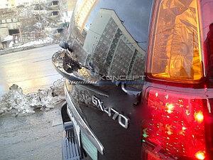 Спойлер под стекло LAND CRUISER PRADO (J120)  GX470 (J120)