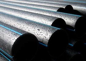 Трубы полиэтиленовые водопроводные напорные ПЭ 100