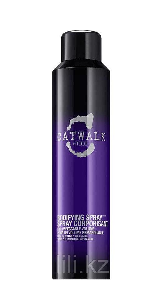 Уплотняющий спрей для придания объема волосам - Tigi Catwalk bodyfying spray 240 мл.
