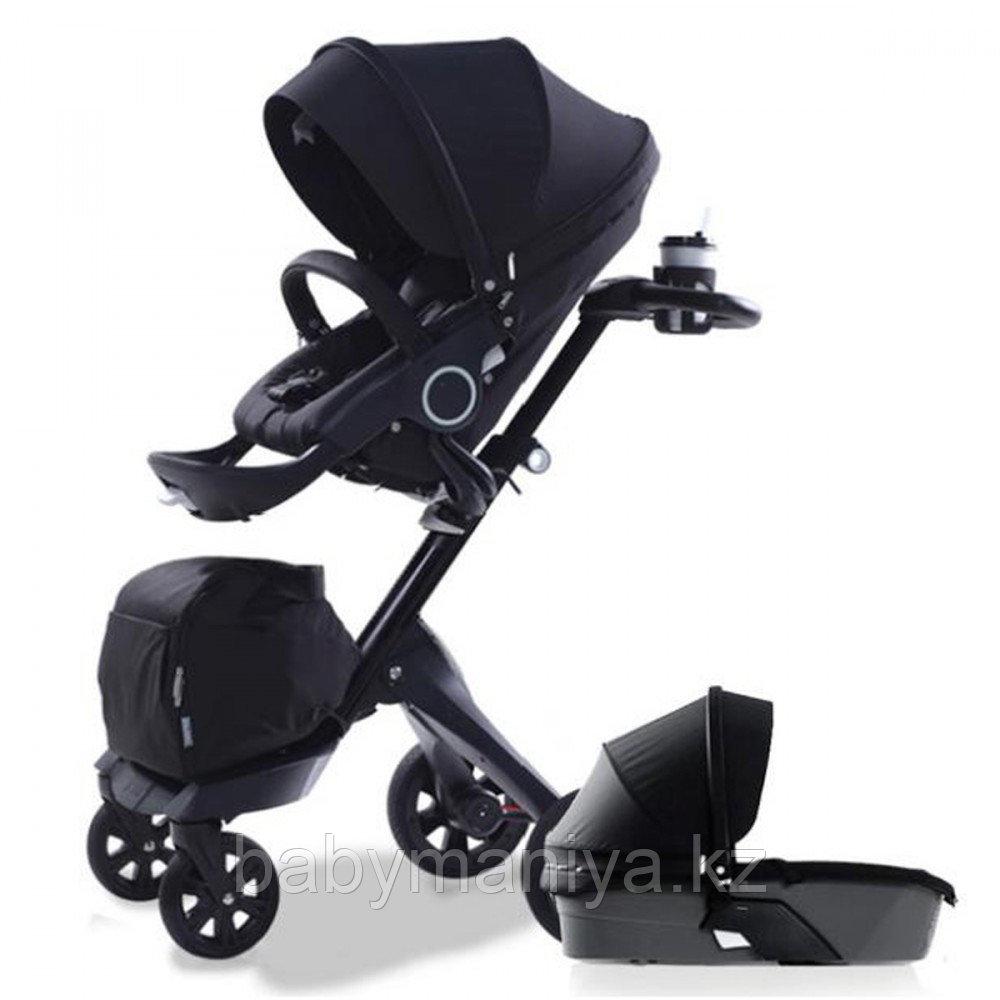 Коляска универсальная 2в1 Dsland (Xplory V6) All black