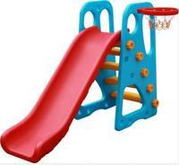 Детская горка с баскетбольным кольцом QC-05011