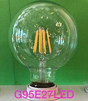 """Лампа Эдисона """"большая груша"""""""