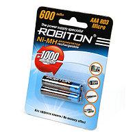 Аккумулятop ROBITON AAA 600mAh