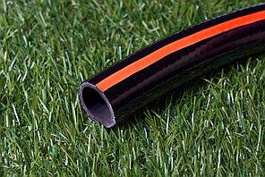 Поливочный шланг чёрный с красной полосой  5/8(15мм) 40м Производство -Иран(Green Garden)