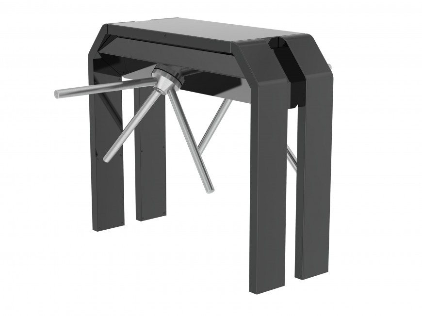 Турникет трипод с различными вариантами покрытия BAR ST-DUO