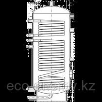 Бак ВТН-1, 1500 л из нержавеющей стали, 2 теплообменника, промышленный