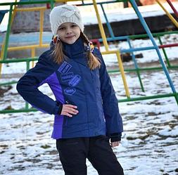 Детский лыжный костюм