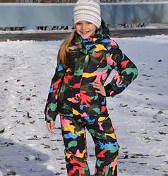 Лыжный костюм для девочек