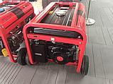 Сварочный генератор бенз. MAGNETTA GW190D, 5кВт, 220В/50Гц, сварка 4.5кВт, 190А, 25В, электрод 2.2-5мм, фото 2
