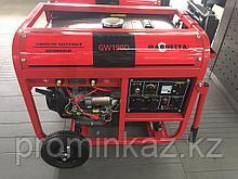 Сварочный генератор бенз. MAGNETTA GW190D, 5кВт, 220В/50Гц, сварка 4.5кВт, 190А, 25В, электрод 2.2-5мм