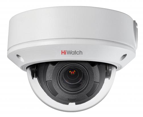 DS-I208 2Мп уличная купольная мини IP-камера с EXIR-подсветкой до 30м. Вариообъектив 2.8-12мм